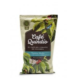 Café Quindío Tostión media (tostado y molido) Bolsa X 250 Gramos