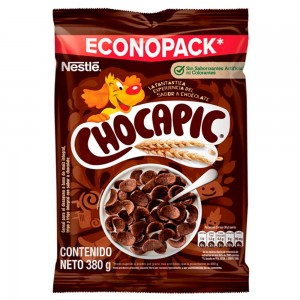 Chocapic Econopack cereal sabor a chocolate Bolsa X 380 Gramos