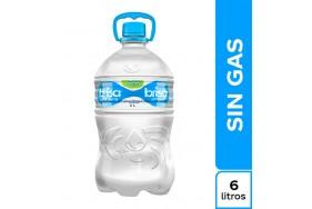Agua brisa galón Botella 6000 Ml