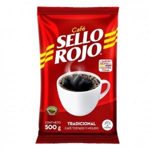 Café Sello rojo Tradicional Bolsa X 500 Gramos