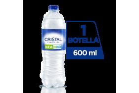 Agua Cristal Botella X 600 Ml
