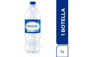 Agua Cristal Botella X 1 Litro