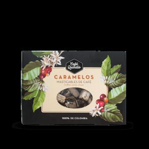 Café Quindío Caramelos masticables de café Caja X 200 Gramos