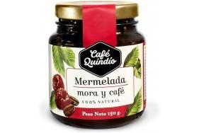 Café Quindío Mermelada de mora y café Frasco X 150 Gramos