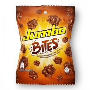 Chocolatina Jumbo Bites Bolsa X 40 Gramos