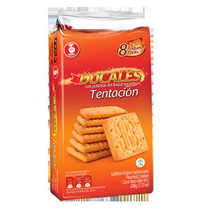 Ducales galleta tentación Paquete X 8 unidades