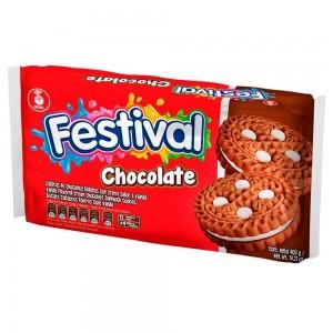 Festival galleta chocolate Paquete X 12 unidades
