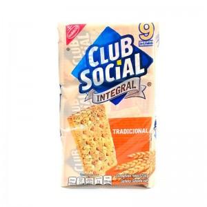 Club social galleta integral Paquete X 9 unidades