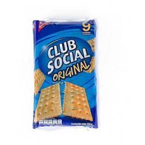 Club social galleta Paquete X 9 unidades