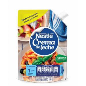 Crema de Leche Nestlé Doy pack X 186 Gramos