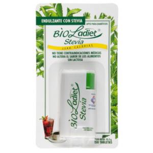 Bioladiet Stevia Dispensador X 150 Tabletas