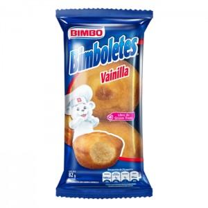 Bimboletes Vainilla Paquete X 82 Gramos