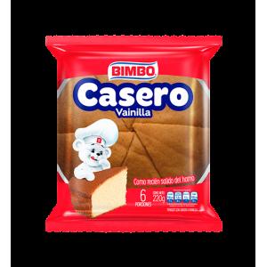 Casero Sabor Vainilla Paquete X 6 Porciones