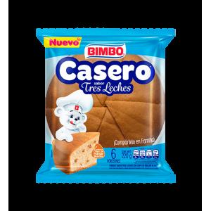 Casero Sabor Tres Leches paquete X 6 Porciones