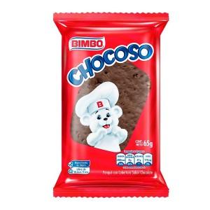 Chocoso Ponque Paquete X 65 Gramos