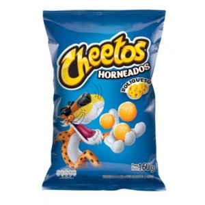 Cheetos Horneados Boliqueso Bolsa X 160 Gramos