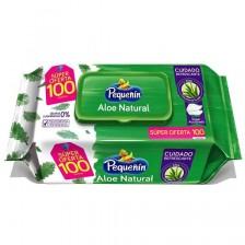 Pequeñín toallitas húmedas áloe pague 70 lleve 100