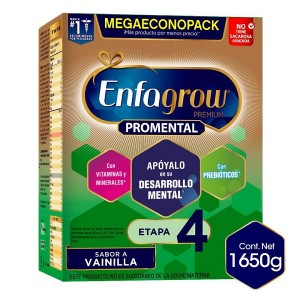 Enfagrow Premium Pro-mental sabor Vainilla Etapa 4 Caja X 1650 Gramos
