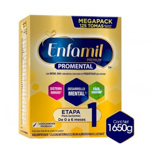 Enfamil Premium Pro-mental Etapa 1 Caja X 1650 Gramos