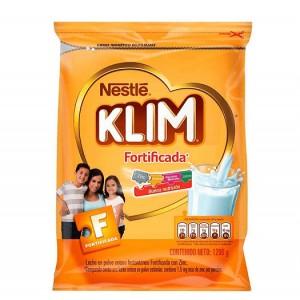 Alimento Lácteo en polvo Klim Fortificada Bolsa X 1200 Gramos