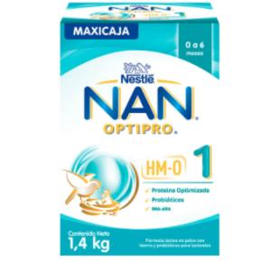 Formula Láctea en polvo NAN optipro 0 - 6 Meses Caja X 1.4 Kg