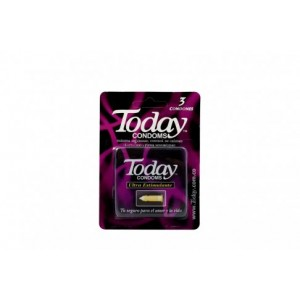 Today Condoms Extra Estimulante Caja X 3 Unidades