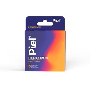 Preservativos Piel Resistente Caja X 3 Unidades