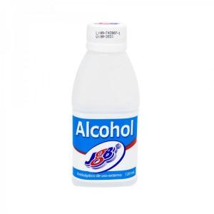 Alcohol JGB Frasco X 120 Ml
