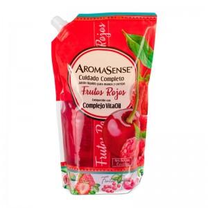 Aromasense jabón liquido frutos rojos Bolsa 800 Ml