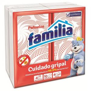Pañuelos Familia Cuidado Gripal Paquete X 4 Unidades