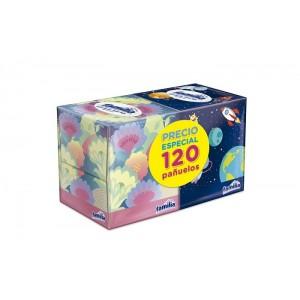Oferta Pañuelos Familia 2 Cajas X 60 Unidades