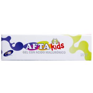 Afta-Kids Gel con ácido hialurónico Oral Tubo X 15 Ml