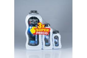 Arden for men talco Antibacterial X 3 Unidades 300+85+30 Gramos (415 Gramos)