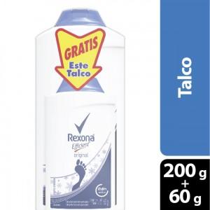 Rexona efficient talco oferta 2 Frascos X 200 gramos + 60 gramos