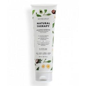 Dermanat shampoo Nutritivo natural therapy sin sal Tubo X 300 Ml