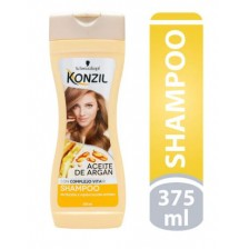 Konzil Aceite de argán Shampoo Frasco X 375 Ml