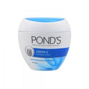 Crema ponds s humectante Pote 200 gramos