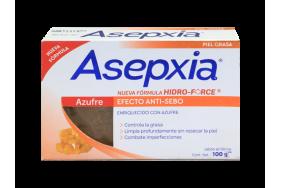Asepxia Efecto anti-cebo Azufre Barra X 100 Gramos