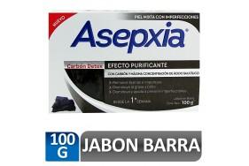Asepxia Efecto purificante Carbón détox  Barra X 100 Gramos