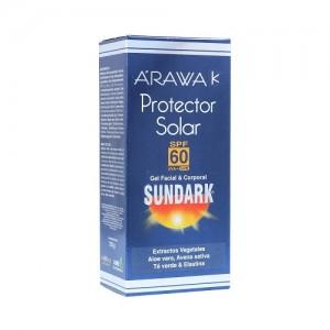 Arawak Protector SPF 60 Gel Facial Sundark Tubo X 120 Ml