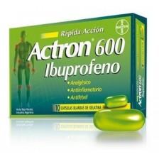Actron 600 Mg Caja X 10 Cápsulas