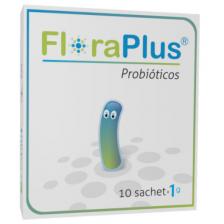 Floraplus Probióticos Caja X 10 Sachets (1Gr)