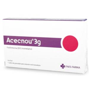 Acecnou 3 Gramos granulado para Solución Oral  Caja X 1 Sobre