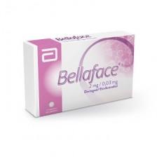 Bellaface 2/0,03 Mg Caja X 21 tabletas