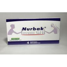 Nurbak 37.5 / 500 Mg Caja X 4 Tabletas