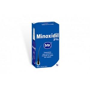 Minoxidil 2% Mk Loción Frasco X 60 Ml