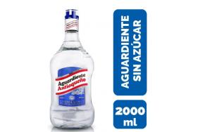 Aguardiente Antioqueño sin azúcar Botella X 2000 Ml