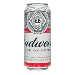 Cerveza budweiser Lata 295 Ml