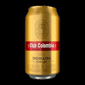 Cerveza club colombia Lata 355 Ml