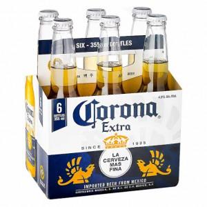 Cerveza corona Botella Six pack (6 Unidades)